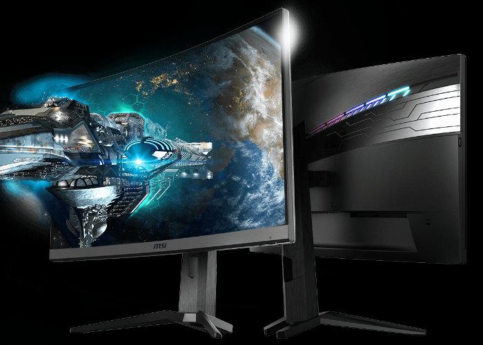MSI Optix MAG272CRX curved monitor