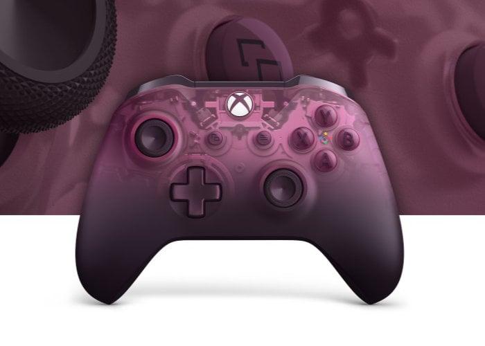 Magenta Xbox Wireless Phantom controller