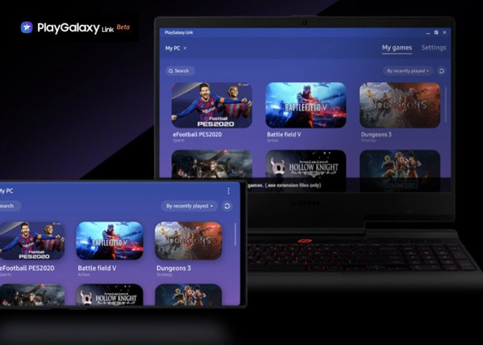 Samsung PlayGalaxy Link game streaming