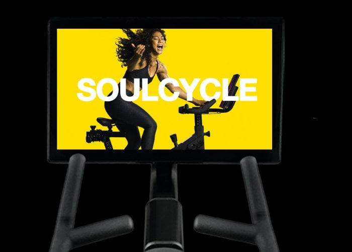 SoulCycle fitness bike
