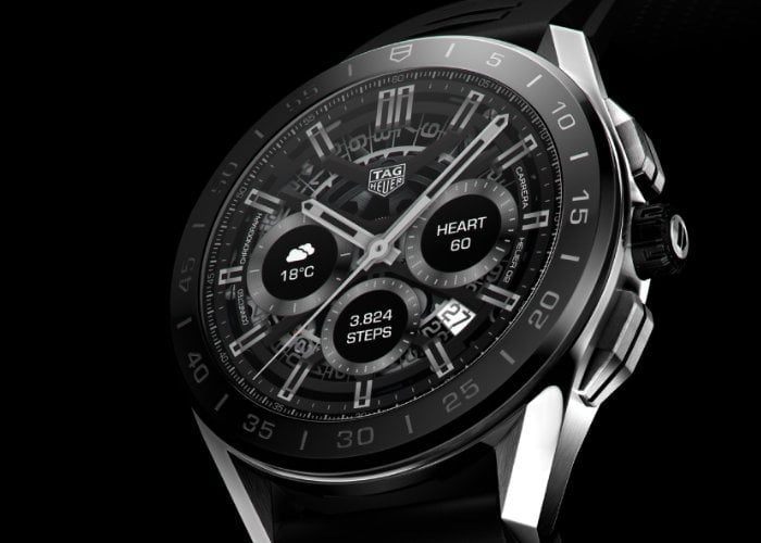 TAG Heuer Connected Wear OS smartwatch