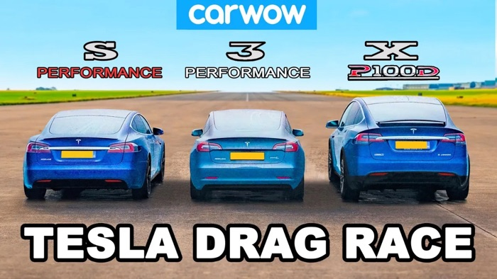 Tesla drag race