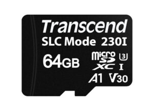 Transcend MicroSDXC cards with SLC