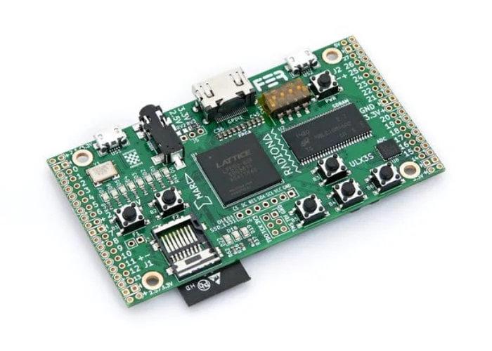 ULX3S powerful, open hardware ECP5 FPGA developer board
