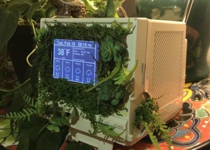 Unique Raspberry Pi weather station