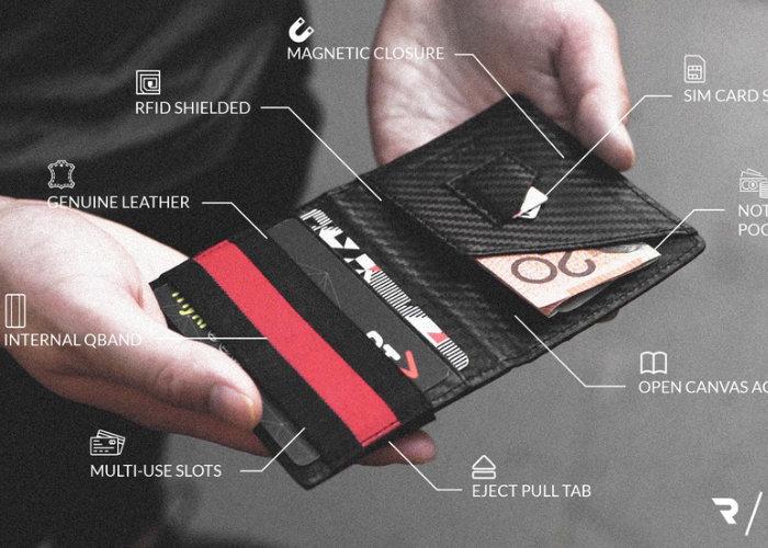 carbon fibre wallet