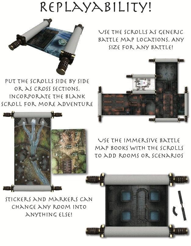reusable dungeon maps you