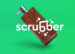 scrubber soap dispenser