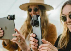 smartphone camera lens mount