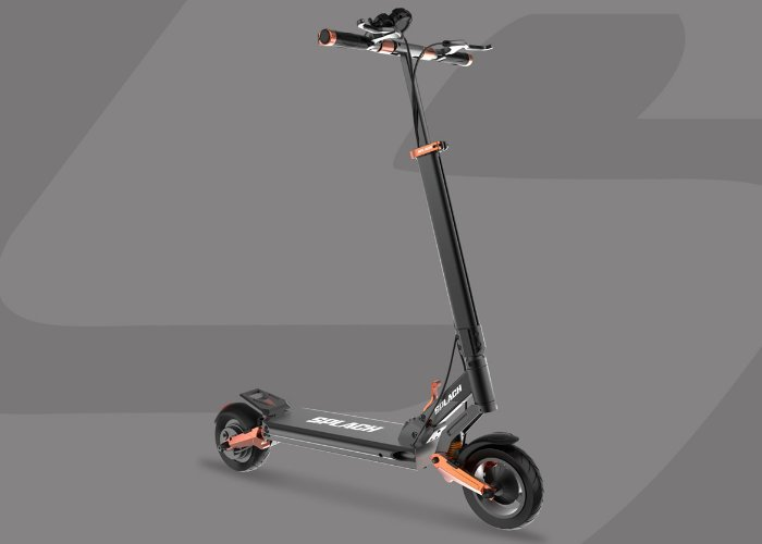 SPLACH ultra smooth suspension electric scooter