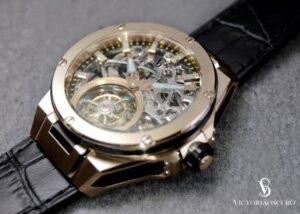 tourbillon automatic watch