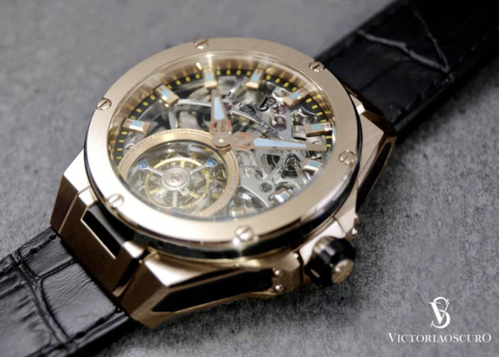 tourbillon automatic watch