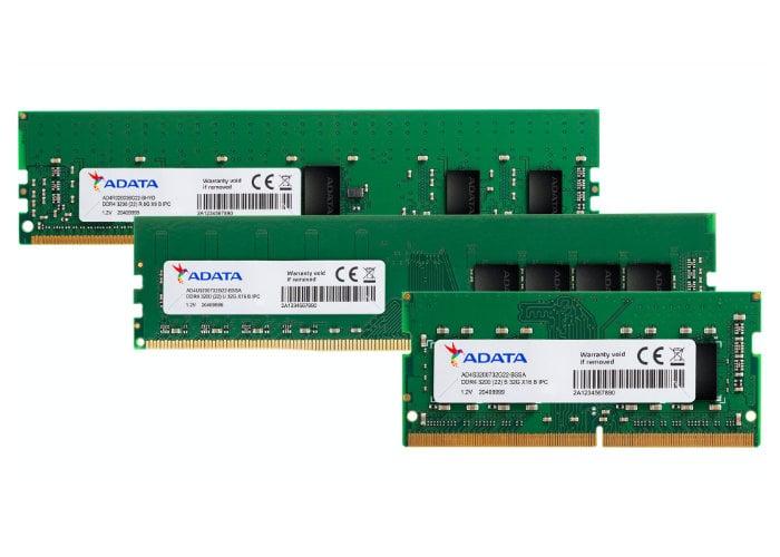 ADATA Industrial-Grade DDR4-3200 32GB memory
