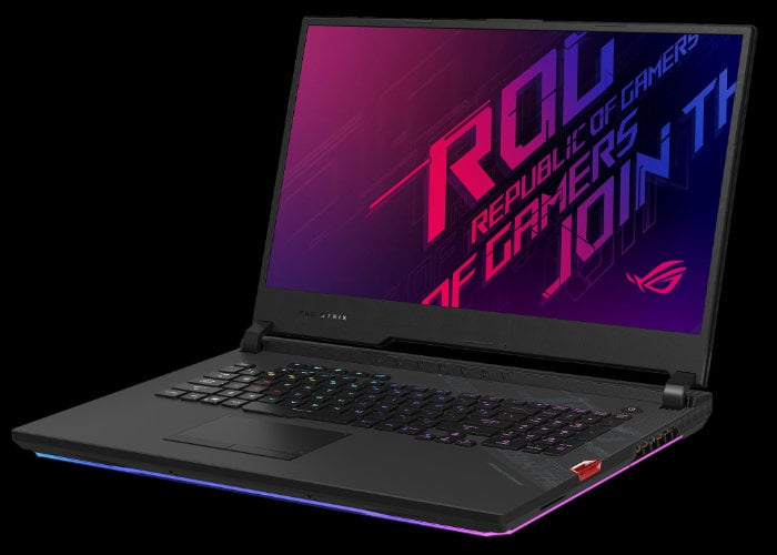ASUS Premium Strix SCAR 17 gaming laptop