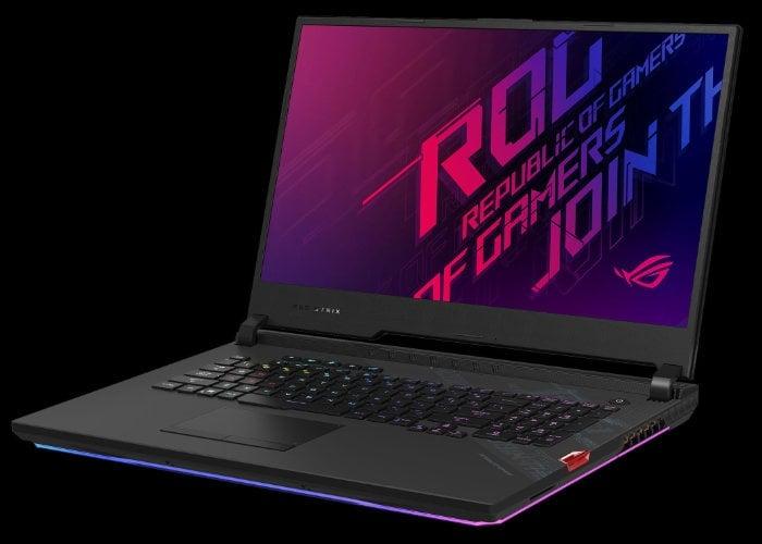 ASUS Premium Strix SCAR 17 gaming laptop