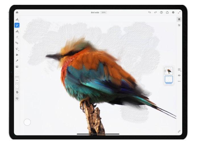 Adobe Fresco app