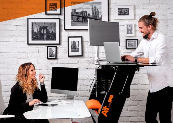 AiT smart height-adjusting standing desk