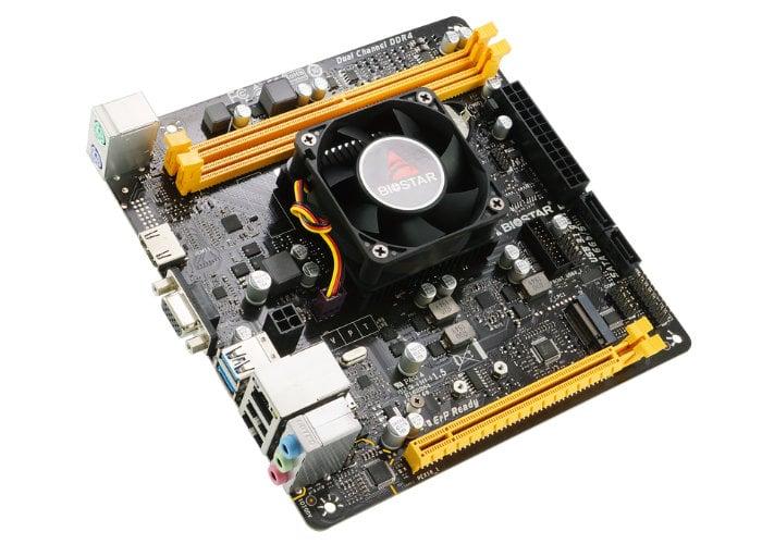 BIOSTAR A10N-9830E SoC motherboard