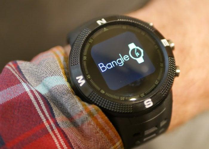Bangle smartwatch