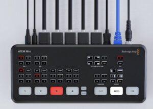 Blackmagic ATEM Mini Pro live streaming switcher