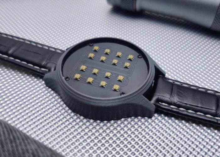DIY binary watch - Geeky Gadgets