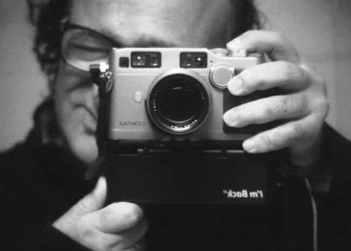 Digital camera back analog cameras