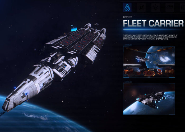 Elite Dangerous Fleet Carriers