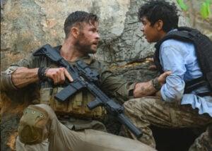 Extraction movie starring Chris Hemsworth