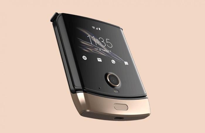 Gold Motorola Razr