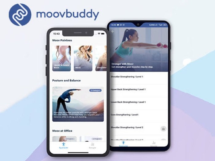 MoovBuddy Exercise App