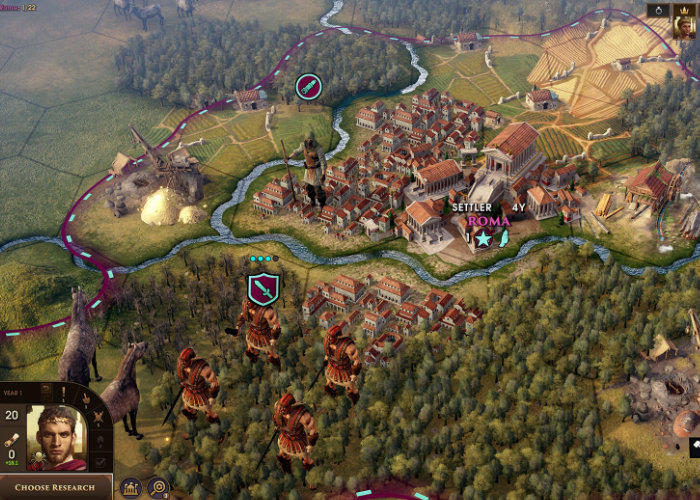 Old World strategy game