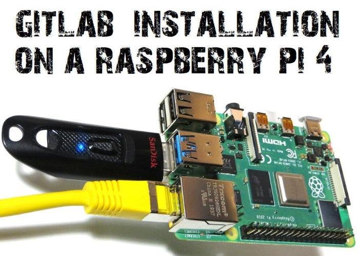 Raspberry Pi 4 GitLab CE installation