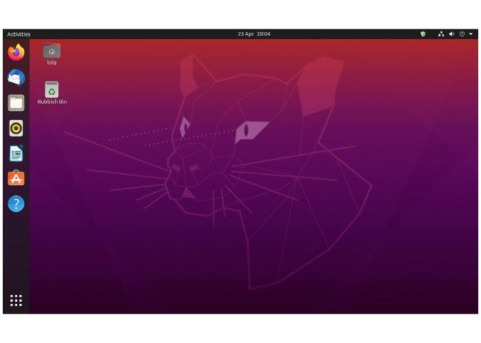 Ubuntu 20 LTS