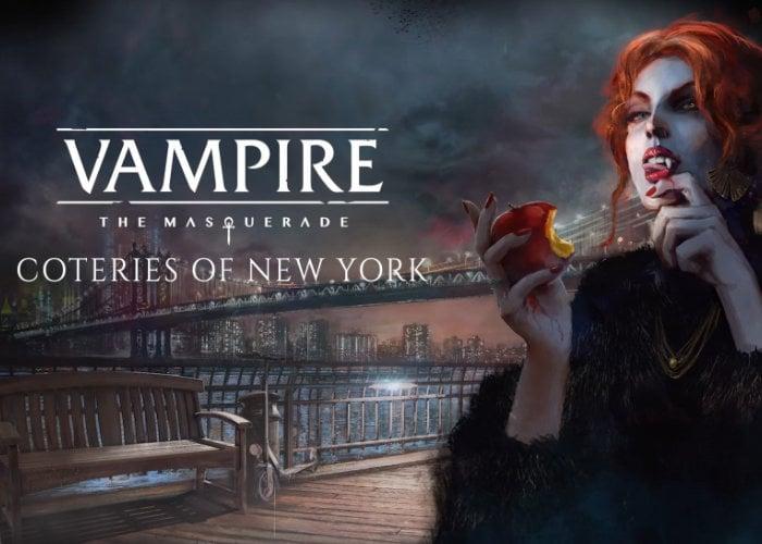 Vampire The Masquerade Coteries Of New York game