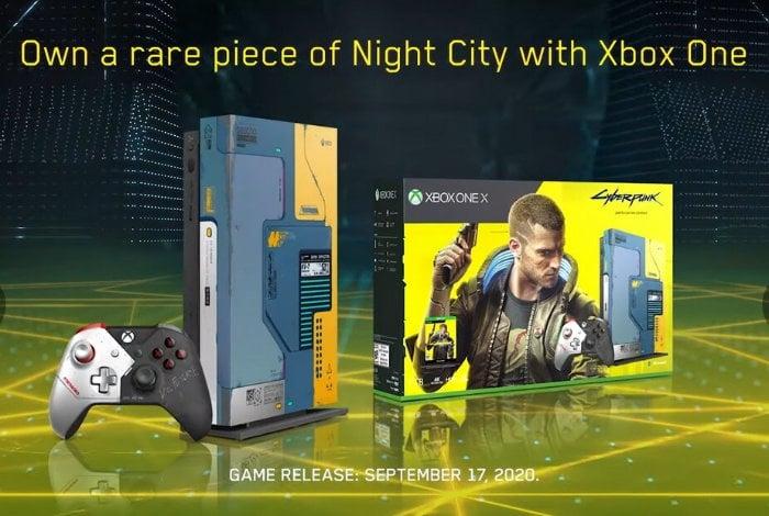 Xbox One X Cyberpunk 2077-1