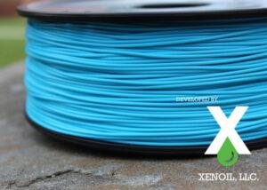XenoFiber recycled 3D printing filament