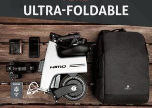 Ultra compact HiMo folding electric bike