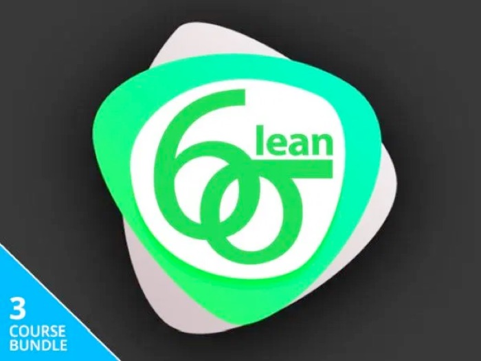 Official Lean Six Sigma Training & Certification Bundle