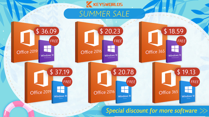 Buy Office get Windows 10 for free