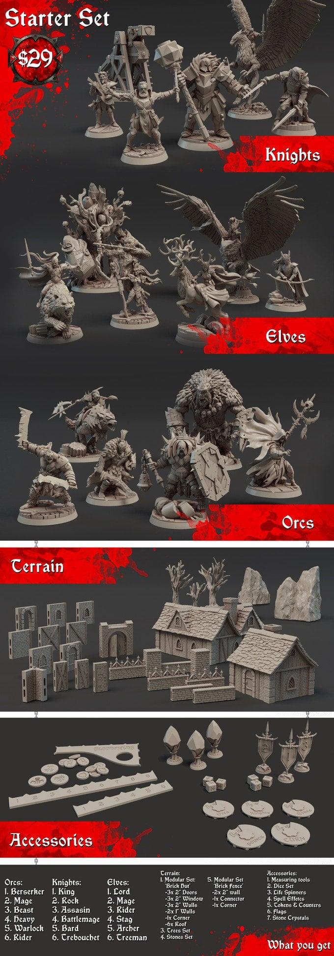 3D printed minis
