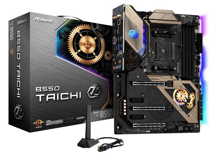 ASRock  AMD B550 motherboards