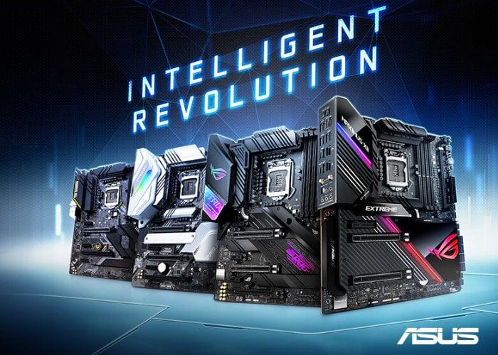 ASUS Z490 Series motherboards