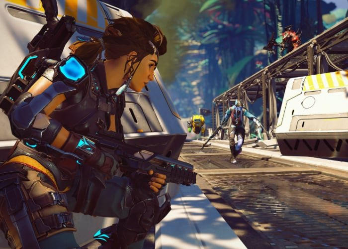 Crucible free-to-play team-based action shooter