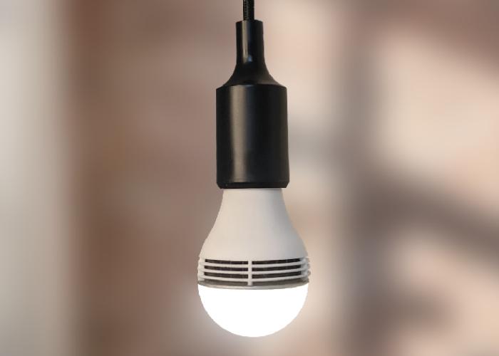 Femto smart bulb and  air-quality monitor