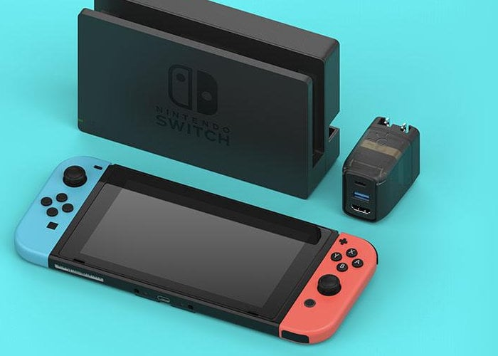 pocket sized Switch dock