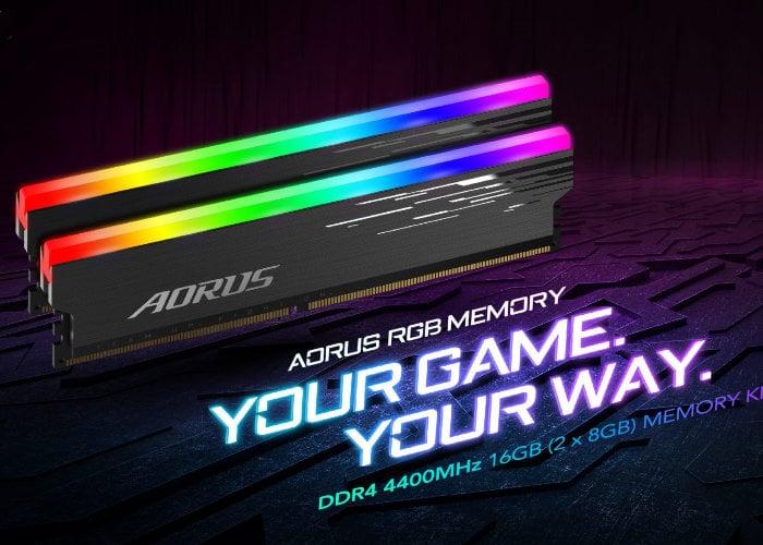 Gigabyte AORUS RGB Memory DDR4-4400MHz 16GB