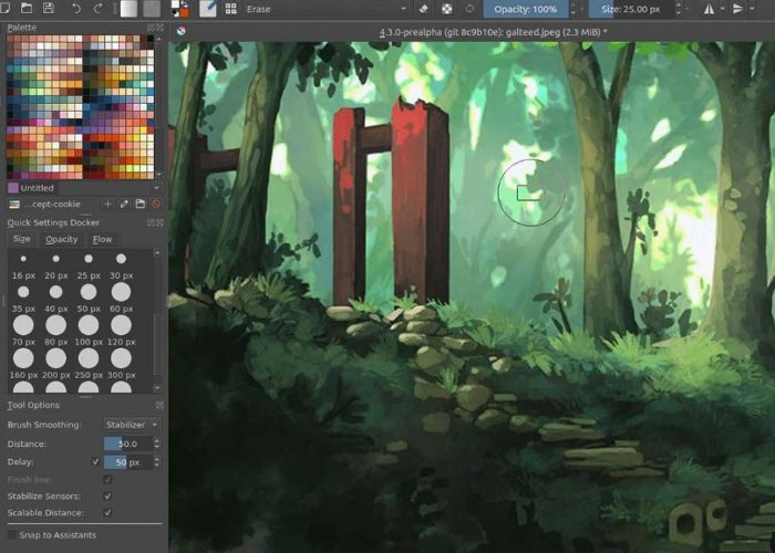 Krita open source painting app lands on Android and Chrome OS - Geeky Gadgets