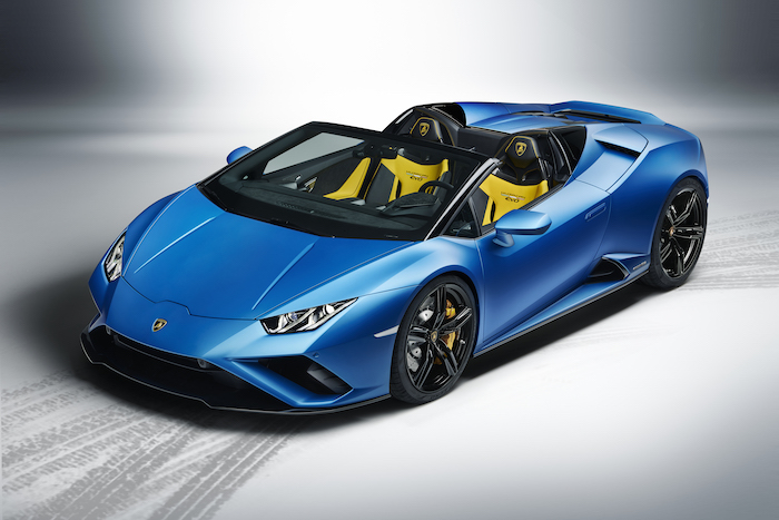 Automobili Lamborghini launches the new Huracán EVO RWD Spyder using Augmented Reality