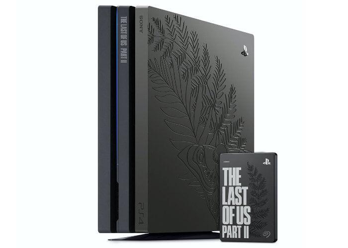 Last of Us Part II Limited Edition PS4 Pro Bundle