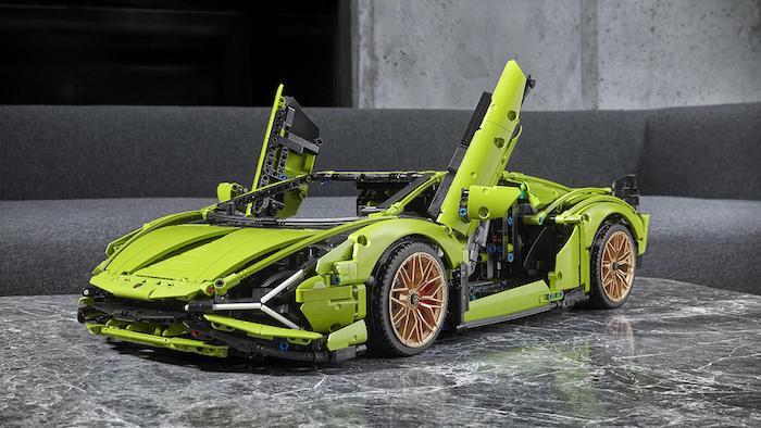 Perfect Combo - Lamborghini Sián FKP 37 + LEGO
